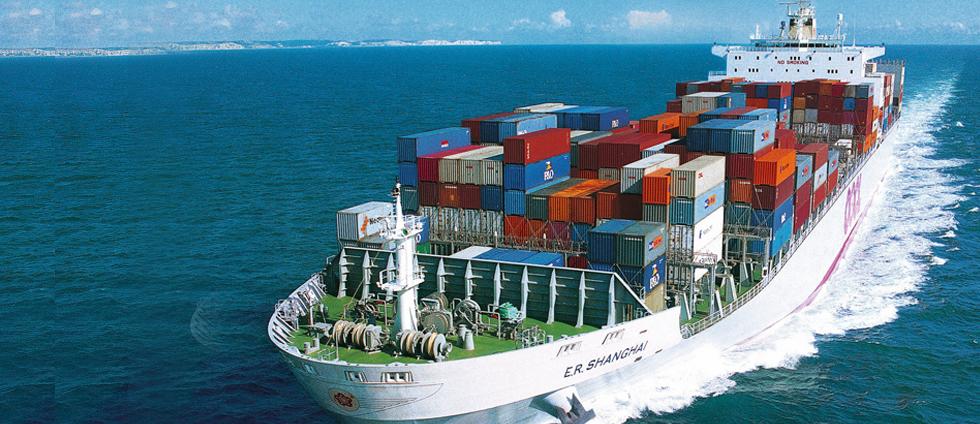 container ship sea