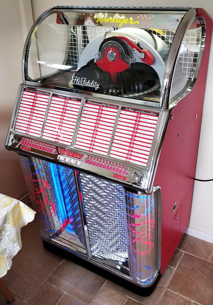 Wurlitzer Jukebox Parts