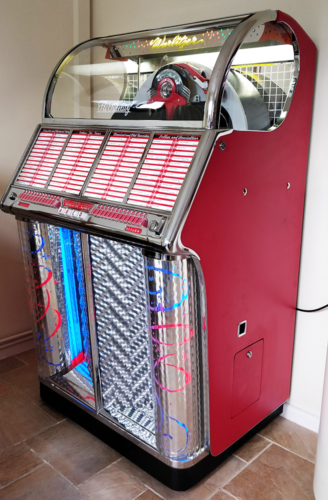 Try These Wurlitzer 1015 Jukebox For Sale Uk {Mahindra Racing}
