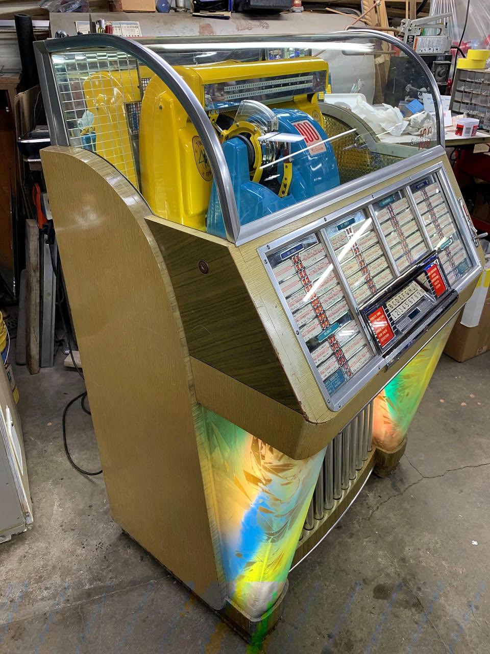The Jukebox Shop – Jukebox sales, repairs and parts